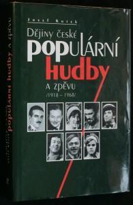 náhled knihy - Dějiny české populární hudby a zpěvu (1918-1968)
