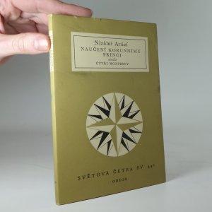 náhled knihy - Naučení korunnímu princi, aneb, Čtyři rozpravy
