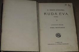 náhled knihy - Rudá Eva : román