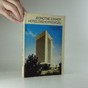 náhled knihy - Jednotné zásady hotelového provozu