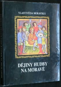 náhled knihy - Dějiny hudby na Moravě