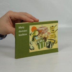 náhled knihy - Malý domáci lexikon