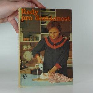 náhled knihy - Rady pro domácnost