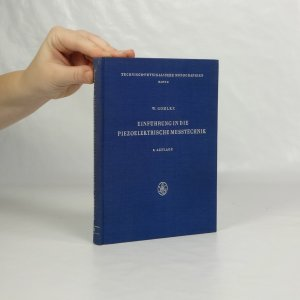 náhled knihy - Einführung in die piezoelektrische Messtechnik