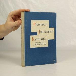 náhled knihy - Pravidla jmenného katalogu pro střední a menší knihovny