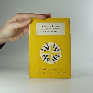 náhled knihy - Milostné příběhy ze staré Francie