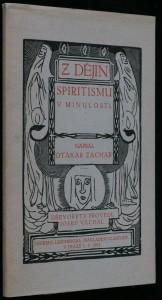 náhled knihy - Z dějin spiritismu v minulosti