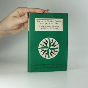 náhled knihy - Don Juan a Faust. Žert, satira, ironie a hlubší význam.