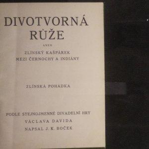 antikvární kniha Divotvorná růže, neuveden