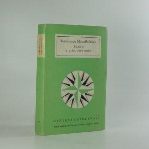 náhled knihy - Blaho a jiné povídky