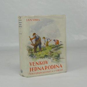 náhled knihy - Venkov jedna rodina : Chodský román ve dvou dílech. (Díl 1.)