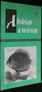 náhled knihy - Akvárium a terárium - časopis československých akvaristů a teraristů r. 5 č. 3