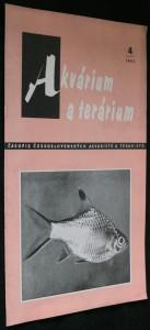 náhled knihy - Akvárium a terárium - časopis československých akvaristů a teraristů r. 5 č. 4
