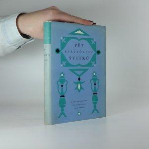 náhled knihy - Pět svátečních svitků