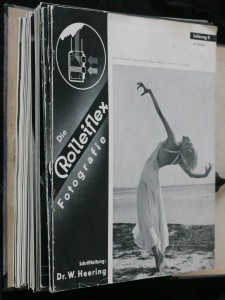 náhled knihy - Die Rolleiflex fotografie 6 - 12; Die fotografie mit Roleiflex und Rolleicord 13 - 52