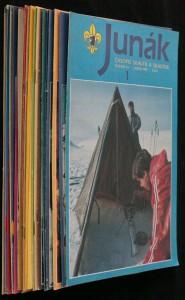 náhled knihy - Junák časopis skautů a skautek r. 34; č. 1 - 24