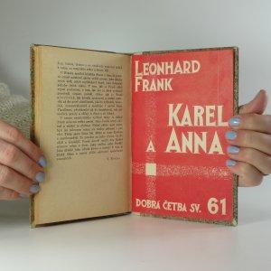 antikvární kniha Karel a Anna, 1929