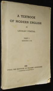 náhled knihy - A textbook of modern English. Part I, lessons 1 - 20;  + Doplňky k učebnici moderní angličtiny