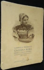 náhled knihy - Gazdina roba : Drama o třech jednáních
