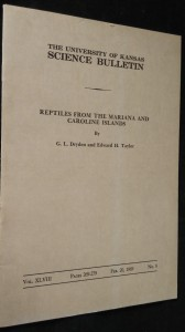 náhled knihy - The university of Kansas Science Bulletin Vol. XLVIII, No. 8