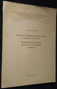 náhled knihy - Studie o českých druzích rodu Boarmia Treitschke
