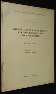 náhled knihy - Abhandlungen und berichte für naturkunde und vorgeschichte