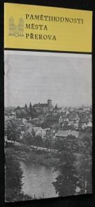 náhled knihy - Pamětihodnosti města Přerova