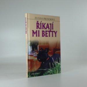 náhled knihy - Říkají mi Betty