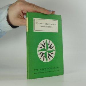 náhled knihy - Šibeniční písně