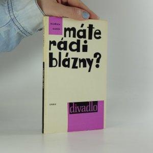 náhled knihy - Máte rádi blázny?