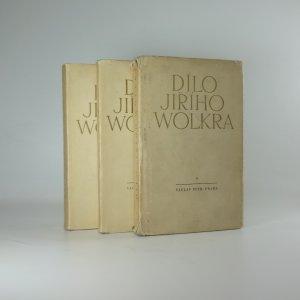 náhled knihy - Dílo Jiřího Wolkra. 1.-3. díl.