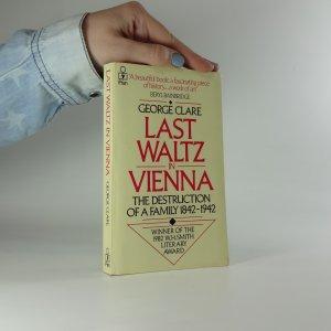 náhled knihy - Last Waltz in Vienna