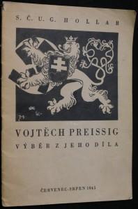 náhled knihy - Vojtěch Preissig, výběr z jeho díla