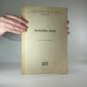 náhled knihy - Mechanika zemin