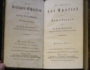 antikvární kniha Die heiligen Schriften des neuen Testaments (2., 3., 5., 6. Bändes - 2., 3., 5., 6. svazek), 1826