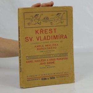 náhled knihy - Křest Sv. Vladimíra. legenda z ruské historie od Karla Havlíčka Borovského