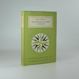 náhled knihy - Kalifornské povídky a legendy