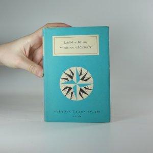náhled knihy - Vteřiny věčnosti : prózy, listy, eseje, sentence : (výbor z díla)