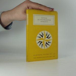 náhled knihy - Kytice ze španělských romancí