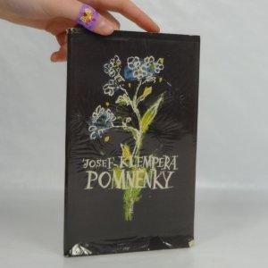 náhled knihy - Pomněnky