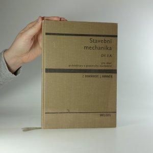 náhled knihy - Stavební mechanika. Díl II A.