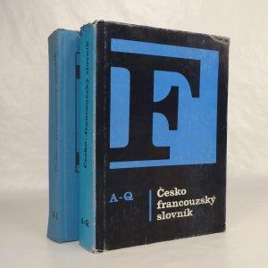 náhled knihy - Česko-francouzský slovník A-Q, Česko-francouzský slovník R-Ž (2 svazky)