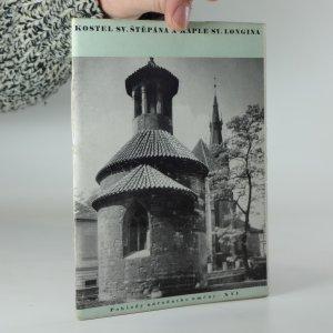 náhled knihy - Kostel Sv. Štěpána a kaple Svatého Longina na Novém městě