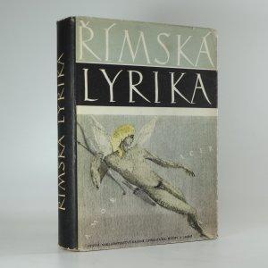 náhled knihy - Římská lyrika