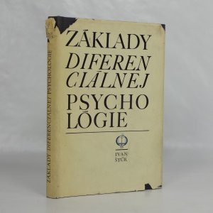 náhled knihy - Základy dieferenciálnej psychológie