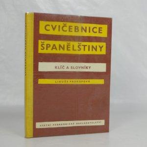 náhled knihy - Cvičebnice španělštiny: klíč a slovníky