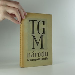 náhled knihy - TGM národu. Časově odpovědi z jeho díla