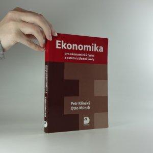 náhled knihy - Ekonomika. pro ekonomická lycea a ostatní střední školy