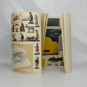 náhled knihy - Vystřihovánka Příbramské jesličky