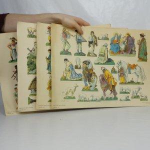 náhled knihy - Vystřihovánka: Mikoláš Aleš: Betlém
